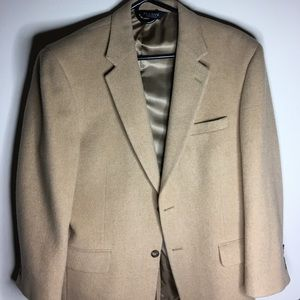Used Jos. A. Bank unisex 100% camel wool